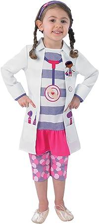 Rubies Doctora Juguetes - Disfraz de medico para niña, talla M (5-6 ...