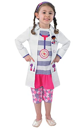 Amazon.com: Toddlers Doc Mcstuffin Costume: Toys & Games