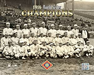 1916 BOSTON RED SOX TEAM WORLD SERIES CHAMPIONS 8x10 Photo PHOTOFILE BABE RUTH