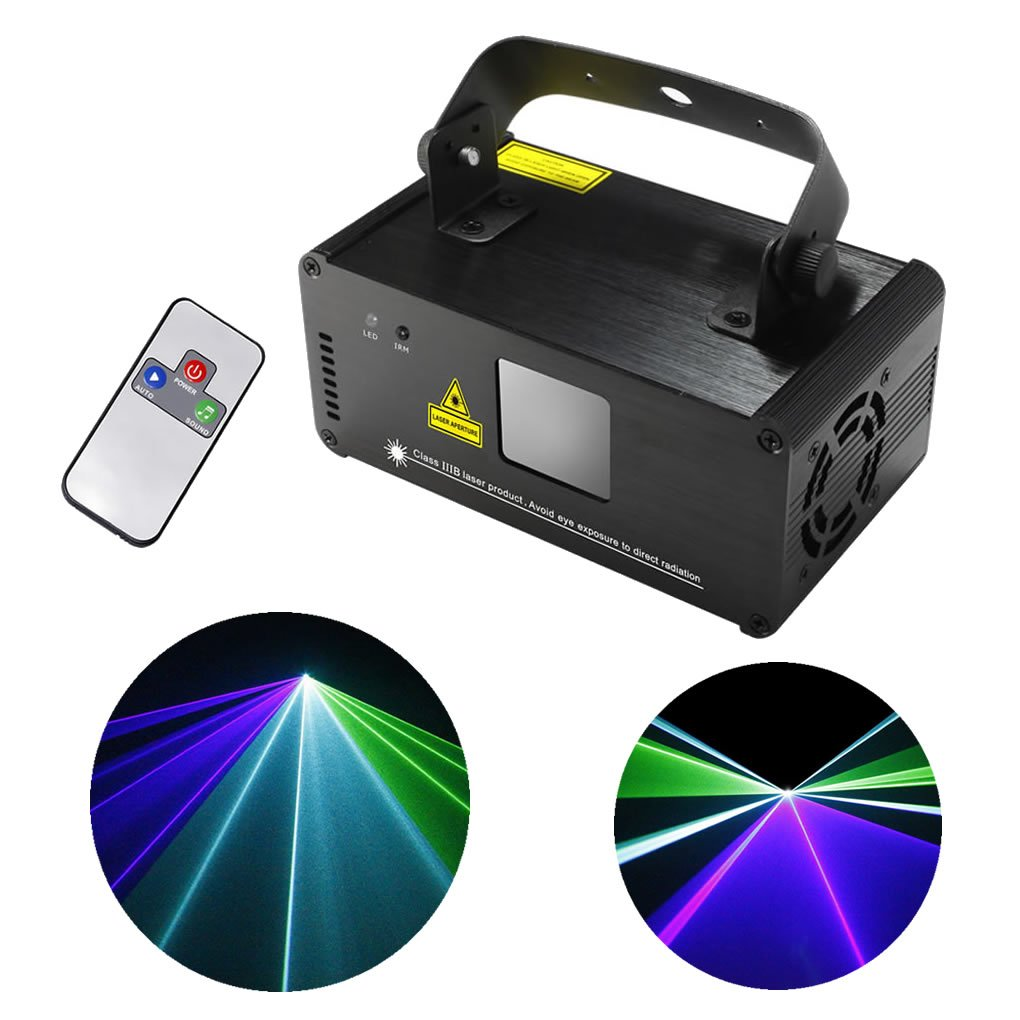 Mini Remote DMX 8 CH Green Blue Cyan Mixing Color Stage Lighting DJ Dance Party Show Projector Lights ADM-GBC200 by EJ