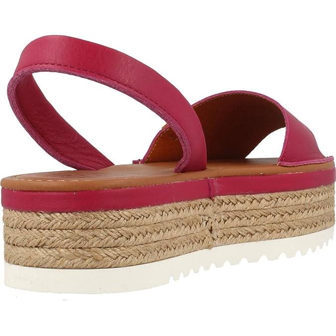 Alpargatas para Mujer, Color Rosa, Marca MENORQUINAS POPA, Modelo Alpargatas para Mujer MENORQUINAS POPA Onna Rosa: Amazon.es: Zapatos y complementos