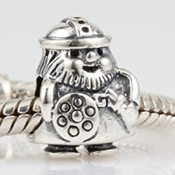 b4de95835 Image Unavailable. Image not available for. Color: Viking Warrior Charm 925  Sterling Silver Soldier Beads Fight for Peace Pirate Charm for Pandora  Bracelet