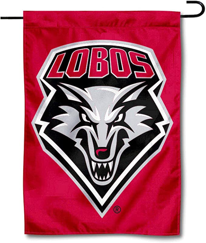 WinCraft NCAA New Mexico State Lobos 12.5 x 18 Inch 2-Sided Garden Flag Logo