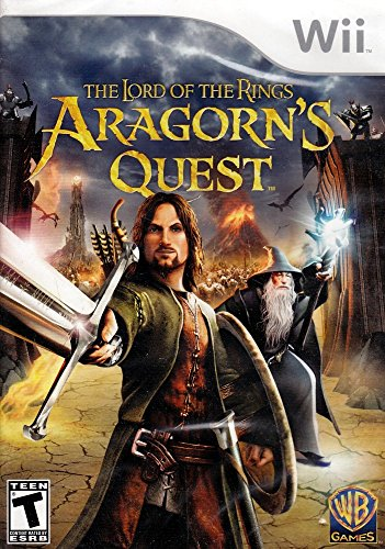 Lord of the Rings: Aragorn's Quest - Nintendo Wii (Lego Lord Of The Rings Nintendo Wii)