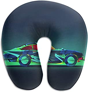Nifdhkw Multifunctional Neck Pillow Cool Car U-Shaped Soft Pillows Portable for Sleeping Travel Multicolor10