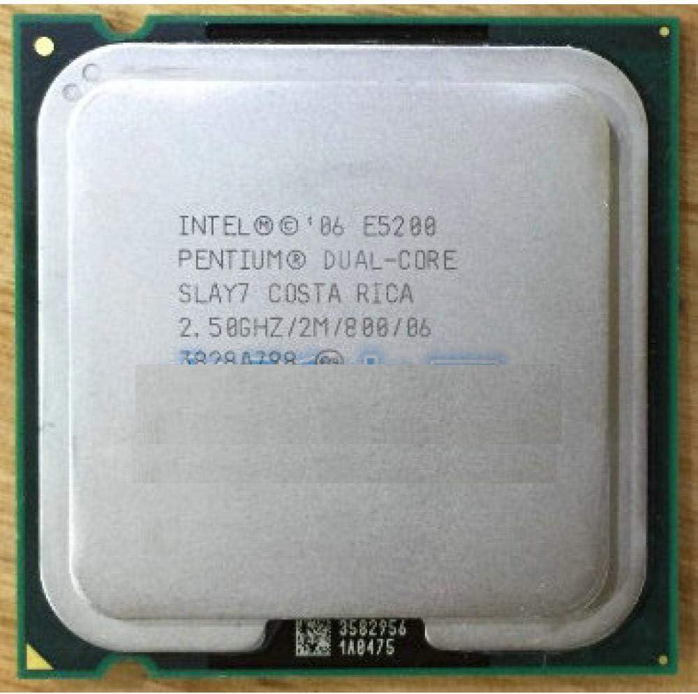 E5200 Original Intel Pentium Desktop Processor Dual Core 2.5GHz 2M 800 MHz Socket 775 Scrattered Piece CPU