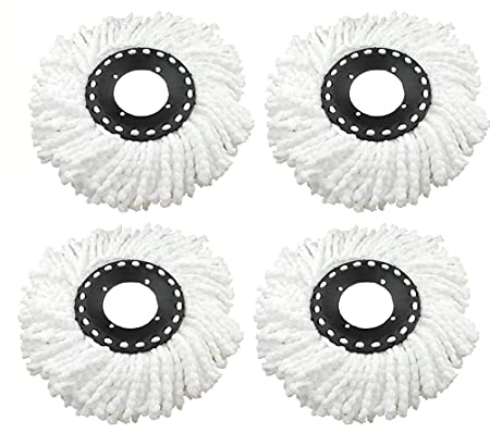 Shopper52 Replacement Refill for 360 Rotating Spin Mop Cleaner,Easy Mop, for Gala, Premsons, Scotch Brite, Pigeon, Primeway, Esquire Spin mop, Mop Refill, Mop Brush - Pack of 2 -MOPREFILL