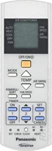 Panasonic OEM CWA75C4643 Air Conditioner Remote Control