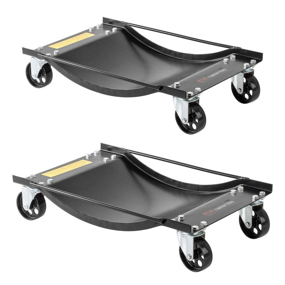 Rage Powersports Car Wheel Dolly Tire Skates (Pair)