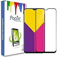 POPIO Edge to Edge 5D / 6D Tempered Glass Screen Protector for Samsung Galaxy M20 (Pack Of 1 Glass)