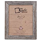 Cheap Rustic Decor 8×10 Picture Frames – Barnwood Reclaimed Wood Standard Photo Frame