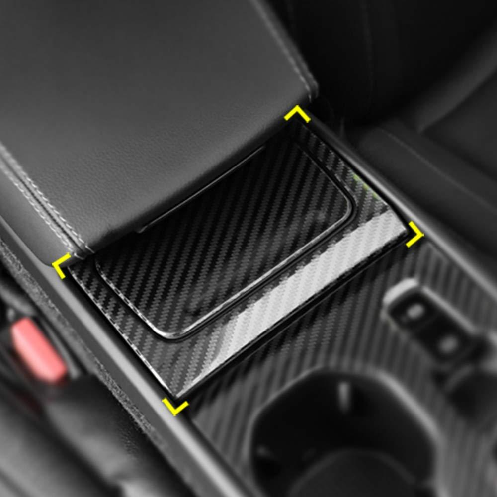 Trim B YUZHONGTIAN Int/érieur Panneau de bo/îte de Vitesses Coque Couverture en ABS Couleur Fibre de Carbone pour XC40 2018 2019 2020
