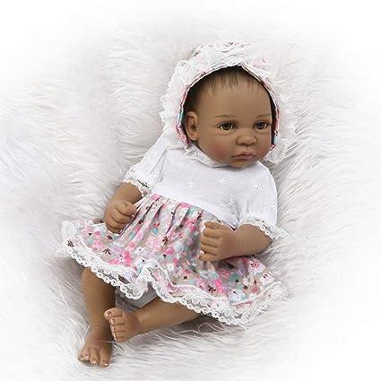 Lorenlli 26 cm Bebé recién Nacido Juguetes de muñeca de Cuerpo ...