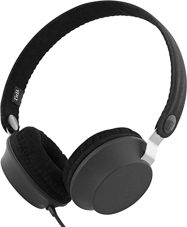 Auriculares de Diadema TnB Legend con Cable y micrófono. Incluye Funda Protectora. Estilo Retro: Create The Legend.