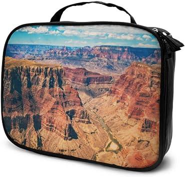Vistas asombrosas de Grand Canyon Arizona Travel Lazy Cosmetic Bag Estuche de Maquillaje Bolsa de Maquillaje para niños Bolsa Impresa multifunción para Mujeres: Amazon.es: Equipaje