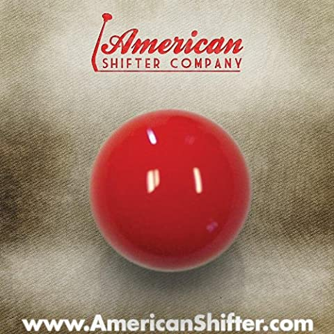American Shifter 221 Old Skool Red Shift Knob - Old Shifters