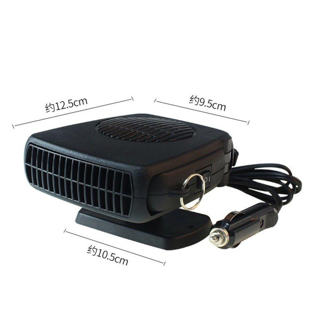 SL&LFJ Car air conditioner,Car heating unit cooling fan compact portable small desktop fan-A