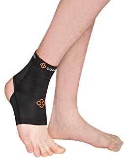 53f7411d1c Copper 88 Ankle Compression Sleeve with 88% Copper Fiber Embedded Nylon to  Aid in Recovery