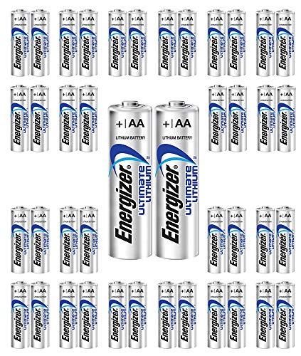 192x Energlzer AA Lithium Batteries Ultimate L91 Exp:2038 USA Wholesale Lot by Energizer (Image #2)