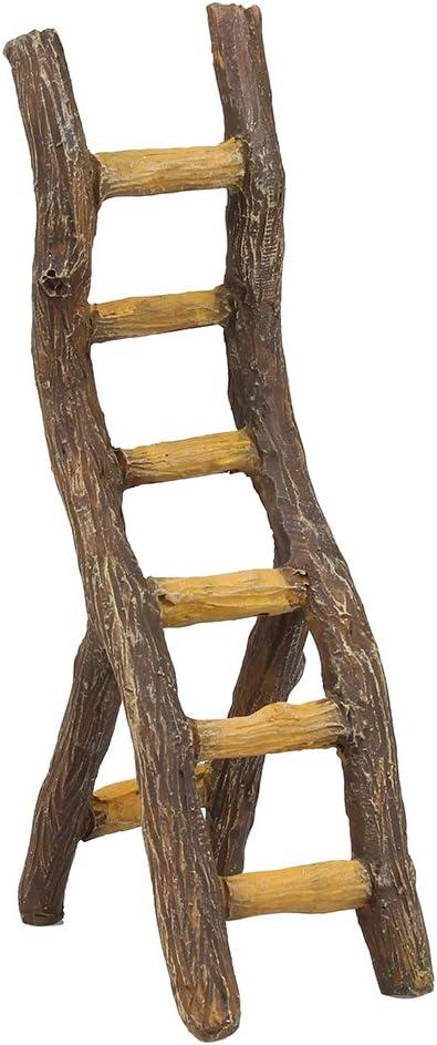 NW Wholesaler Jardín de hadas suministro – Hada muebles – rústico escalera: Amazon.es: Jardín