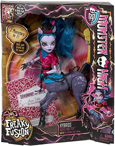 Monster High Freaky Fusion Avea Trotter Doll -