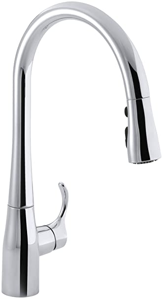 Kohler K 596 Cp Simplice High Arch Single Hole Or Three Hole Single