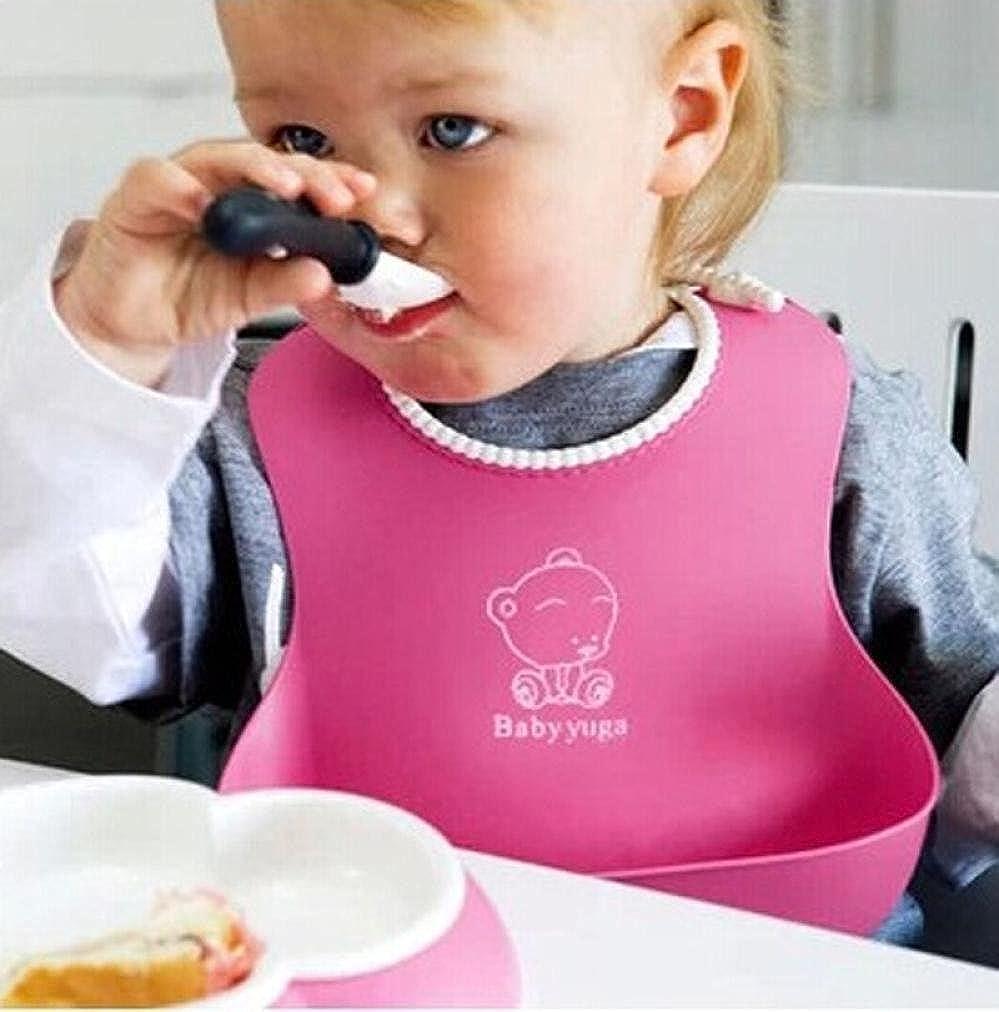 wasserdicht-weich-Silikon,Mittagessen Schellfisch LuckyGirls Baby L/ätzchen