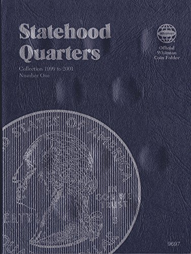 1999-2001 STATEHOOD QUARTER WHITMAN TRIFOLD No 9697 COIN; Album, Binder, Board, Book, Caed, Collection, Folder, Holder, Page, Portfolio, Publication, Set, Volume
