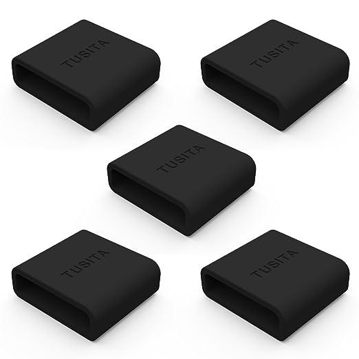 2 opinioni per Tusita, fascia di fissaggio in silicone per chiusura più sicura per Fitbit