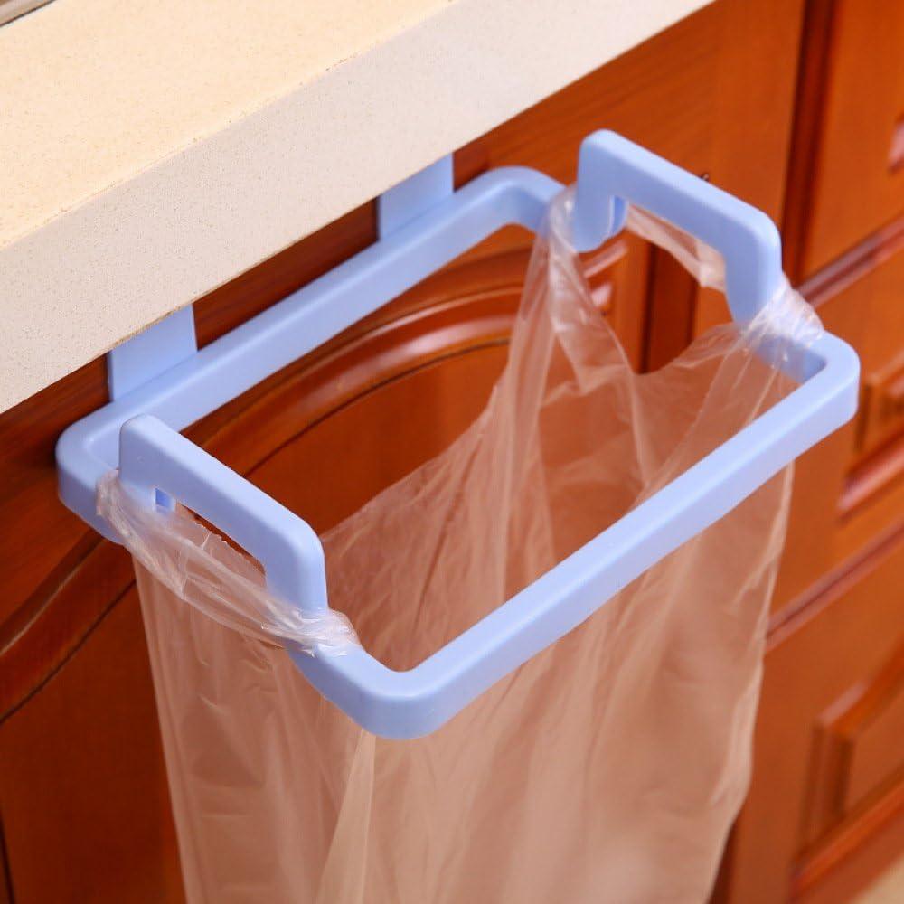Cesta colgante para cocina y ba/ño M/&W Sobre la puerta del armario Bin Cesta de almacenamiento multiusos