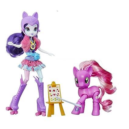 amazon com my little pony toys bundle set my little pony my little