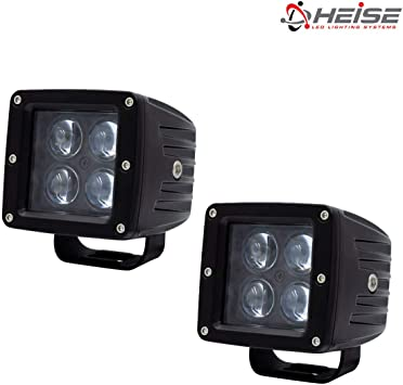 Heise 3 Inch 4 Led Cube Light