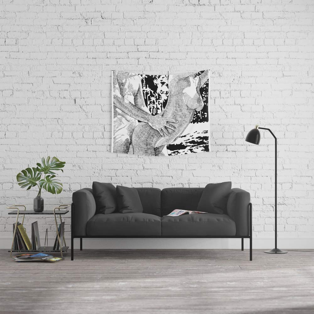 Society6 Wall Tapestry, Size Small: 51'' x 60'', Let's Dance by suzieqillustratrice