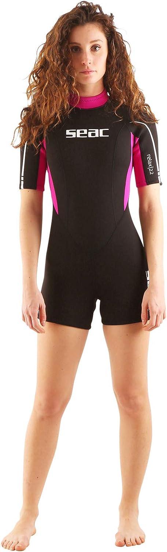Traje corto Relax de Seac de 2,2mm de grosor. Ideal para la práctica de esnórquel, natación, buceo y todo tipo de deporte acuático