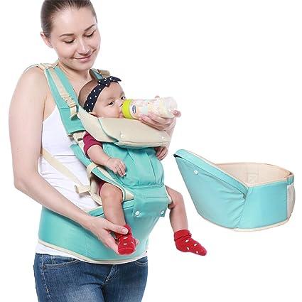 Portabebés con asiento, abdomen, espalda y cadera portabebés ...