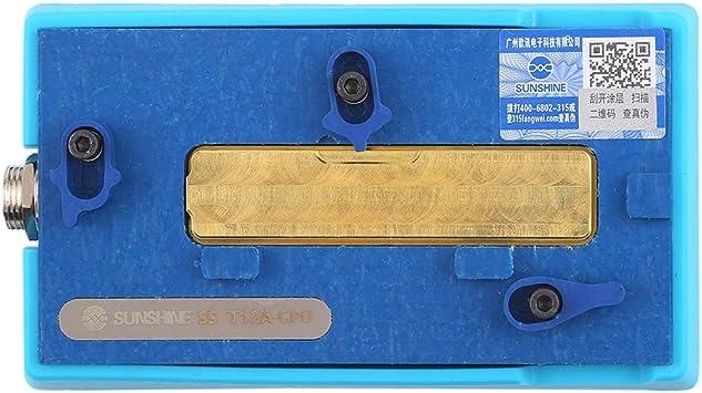 Deluxe Cell Phone Repair Tool Kits Professional SS-T12A-CPU Motherboard Heating Table Repair Disassembly Platform Repair Kits