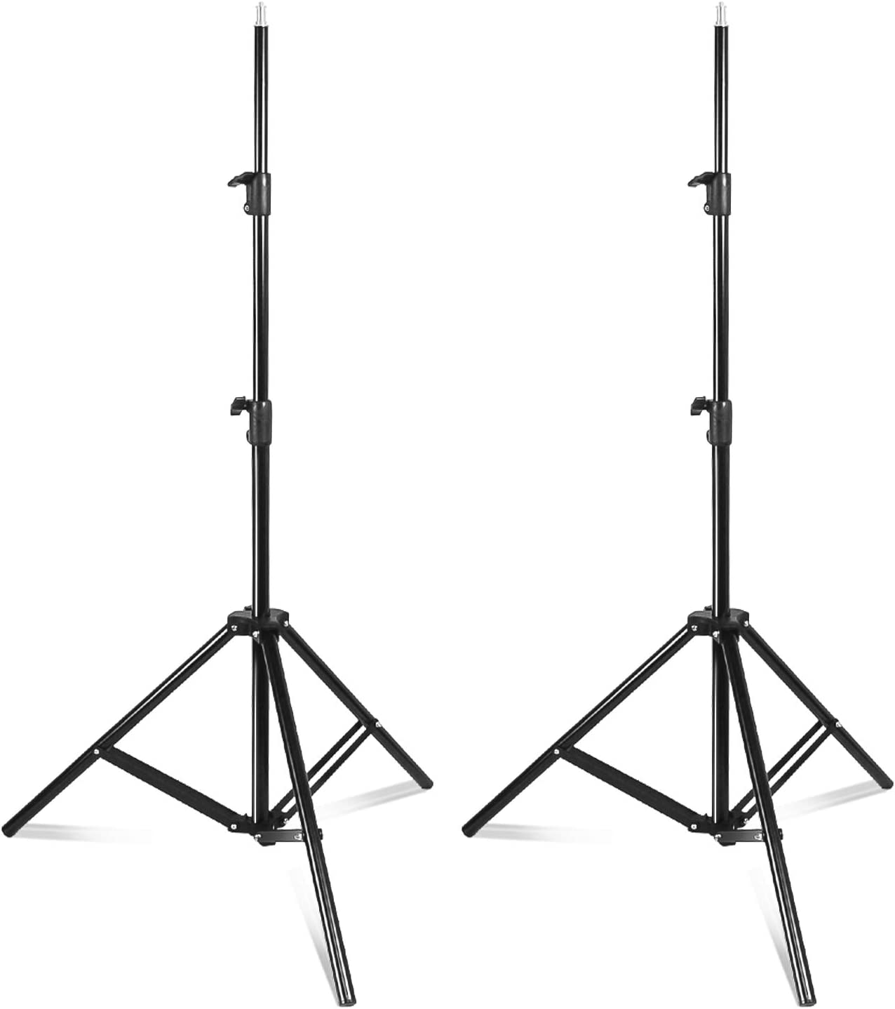 AGG2944 Limo Studio 2 Pack 86.5 Aluminum Light Photography Tripod Stand for Photo Studio