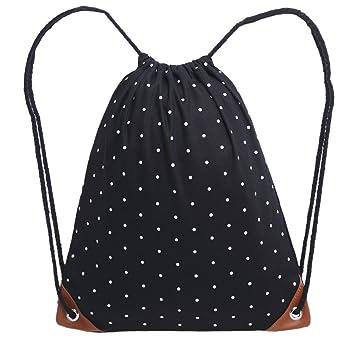 GiveKoiu-Bags - Mochilas de Lona de Alta Capacidad para niñas, para la Escuela
