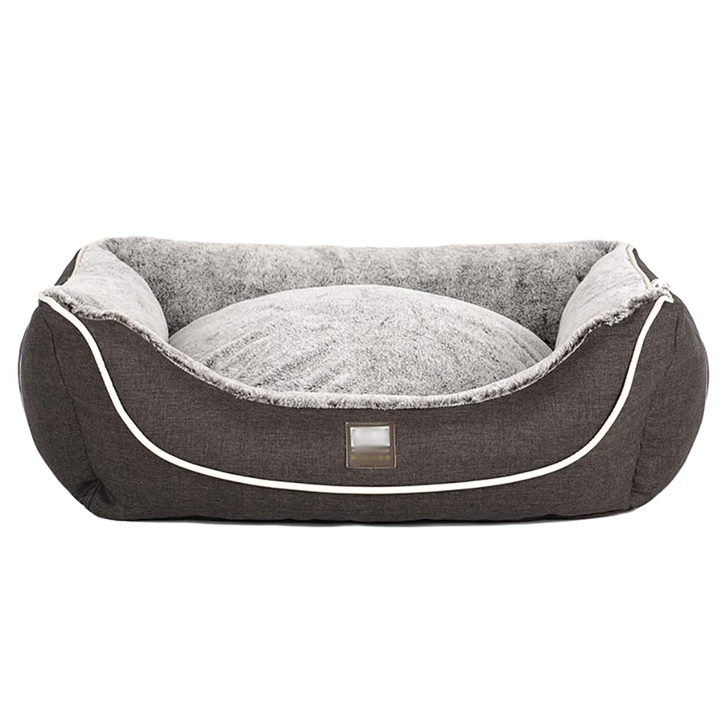 453520 Pet house Cat nest kennel Small dog Medium dog Large dog Washable Pet nest pet bed Pet mat Soft comfortable Four seasons available (Size   45  35  20)