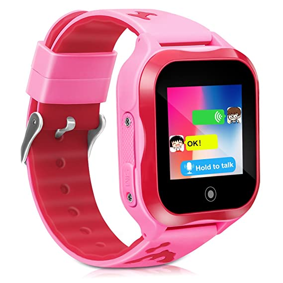 Smart Electronics Well-Educated Kids Smart Watch Phone For Children Girls Boys 1.44 Touch Ip67 Waterproof Gps Locator Tracker Sos Call Anti-lost Monitor Watch Fast Color Smart Watches
