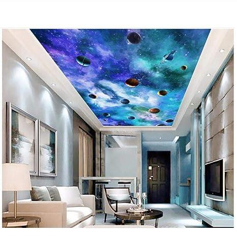 Amazon Com Pbldb 3d Wallpaper Custom Photo Starry Sky Milky