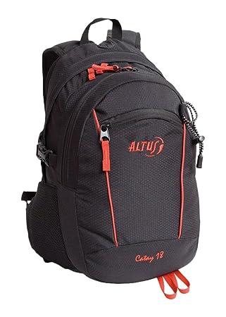 Altus Catay 18 - Mochila, Unisex, Color Rojo/Negro, Talla única: Amazon.es: Deportes y aire libre