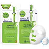10Pcs MediHeal Teatree Healing Solution Essential Mask Pack Sheets Made in Korea