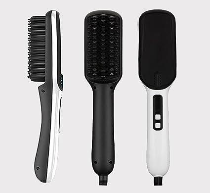 Ionic cepillo cepillo de pelo cabello pelo alisado de Peine Plancha de pelo para todo tipo