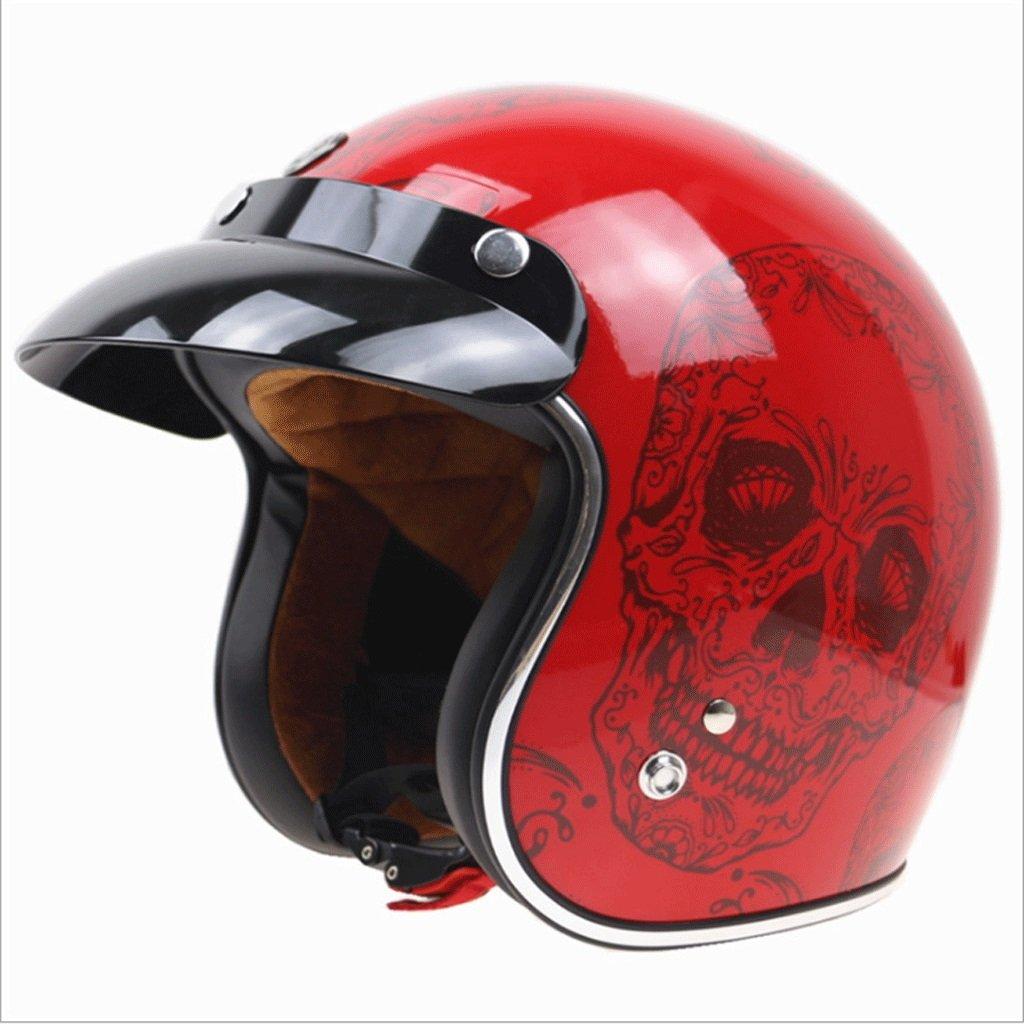 【最新入荷】 ハーレーヘルメットレッドスカル柄レトロヘルメットオートバイオートバイトラムヘルメット (サイズ (サイズ さいず : XX-Large XL) : B07P63C2KW XX-Large XX-Large, 大黒堂書店:b7ba1396 --- a0267596.xsph.ru