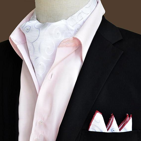 PENGFEI Seda Corbata Bufanda Hombres Ropa Formal Camisa Toalla De ...