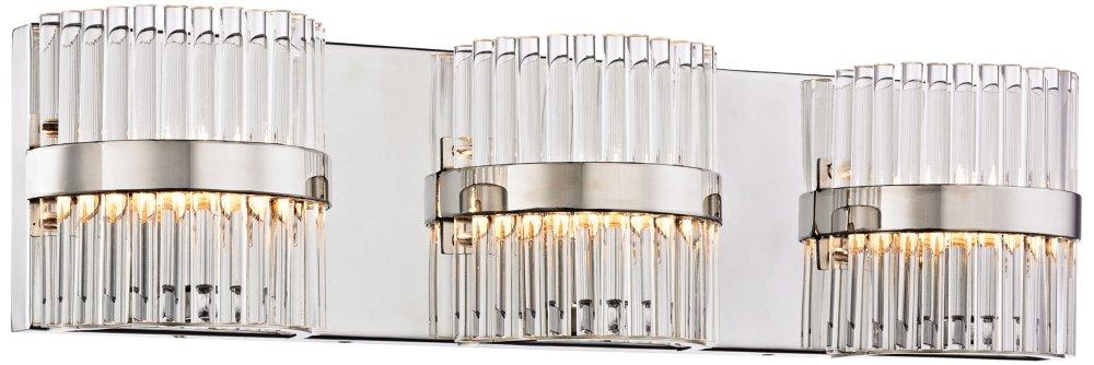 エルク照明nescott 3ライト化粧台ライトinポリッシュクローム B01C9W8N3M