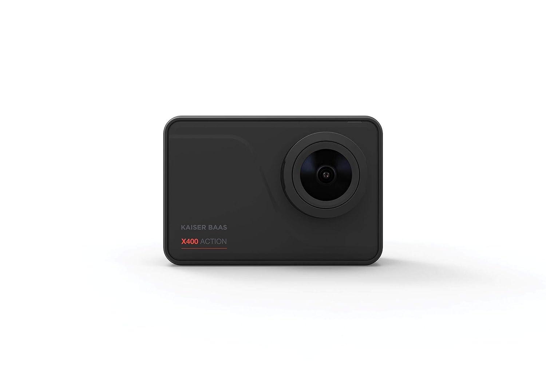Kaiser Baas KBA12054 X400 Wi-Fi 4K+ 30FPS 14 MP 7G Action Kamera, Schwarz