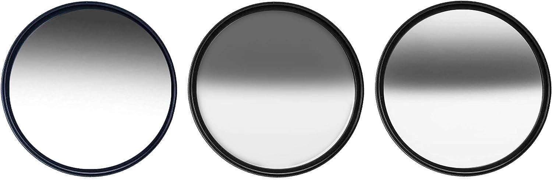 Kase 82mm Grad ND 3 Filter Set Soft ND1.2 Hard GND0.9 Reverse ND0.9 Schott B270 Optical Glass Waterproof Scratchproof Nano Multi-Coatings 82