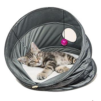 WW-XX Nido De Gato Lavable Mascota Suministros para Gatos Plegable Alfombra De Gato: Amazon.es: Hogar